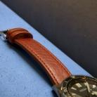 81901 Kozeny Reminek Classic Hnedy na Modre Kuze