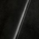 Gewalktes Leder - schwarz