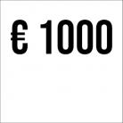 Spende € 1000