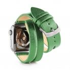 apple watch double - plain - cut - back - Scene 1 - GREEN RAY - silver brushed.jpg