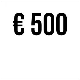 Spende € 500