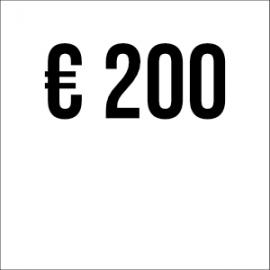 Spende € 200