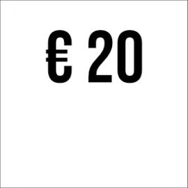 Spende € 20
