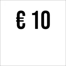 Spende € 10