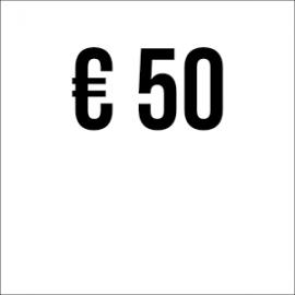 Spende € 50