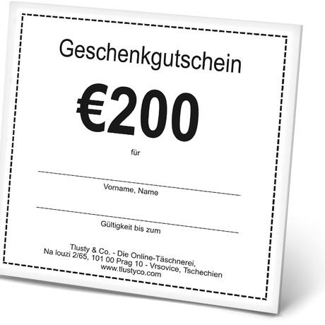 Voucher DE 200 Euro