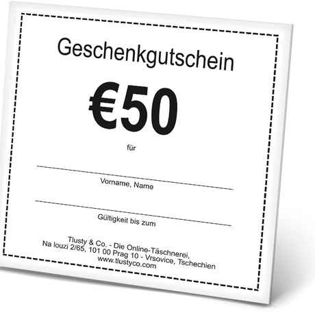 Voucher DE 50 Euro